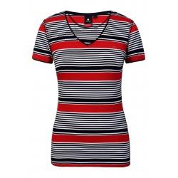 Luhta AAPAJOKI Black/Red T-shirt