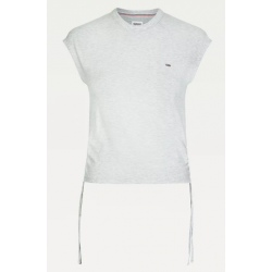 Tee-shirt à nouer Tommy Hilfiger White