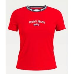 Tommy Hilfiger TJW REGULAR TIMELESS Deep Crimson T-shirt