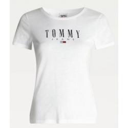 Tee-shirt Tommy Hilfiger TJW ESSENTIAL SKINNY White