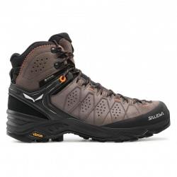 Salewa MS ALP TRAINER 2 MID GTX Wallnut/Fluo orange Trekking shoes