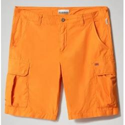 Napapijri NOTO Marmalade Orange Bermuda Shorts