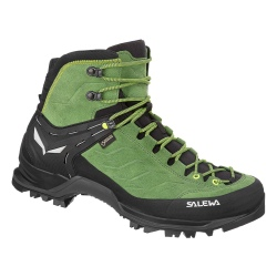 Salewa MS MTN TRAINER MID GTX Myrtle/Fluo green hiking shoes