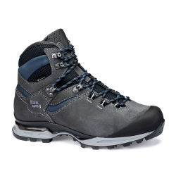 Hanwag TATRA LIGHT BUNION GTX Asphalt / Blue shoes