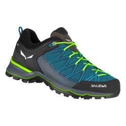 Salewa MS MTN TRAINER LITE Blue malta/Fluo green shoes