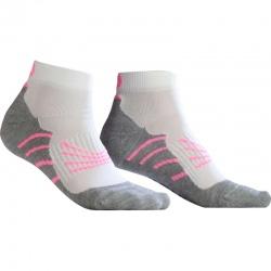Socquettes Monnet RUN PERF Blanc rose