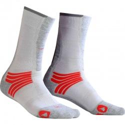 Monnet TREK AIR Socks Grey Red