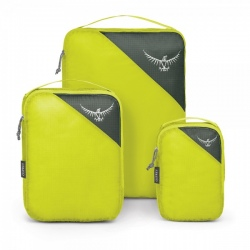 Osprey ULTRALIGHT PACKING CUBE SET Electric Lime