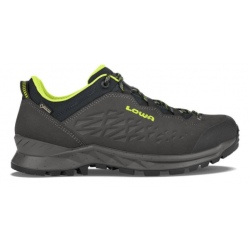 Hiking shoes Lowa EXPLORER GTX LO anthracite/lime