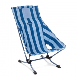 Helinox blue stripe beach chair
