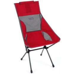Helinox SUNSET Chair Scarlet / Iron block