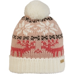 Bonnet Cairn MAE J Powder Pink Jacquard