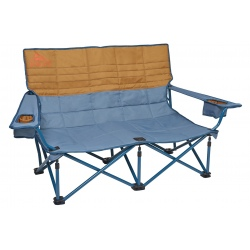 Chaise de camping Kelty LOW LOVESEAT Tapestry / Canyon Brown
