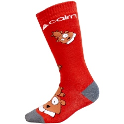 Chaussettes Cairn DUO PACK SPIR J Red Marmot