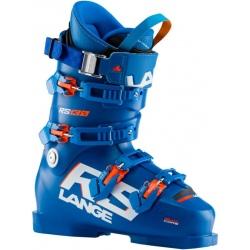 Lange RS 130 Power Blue ski boots