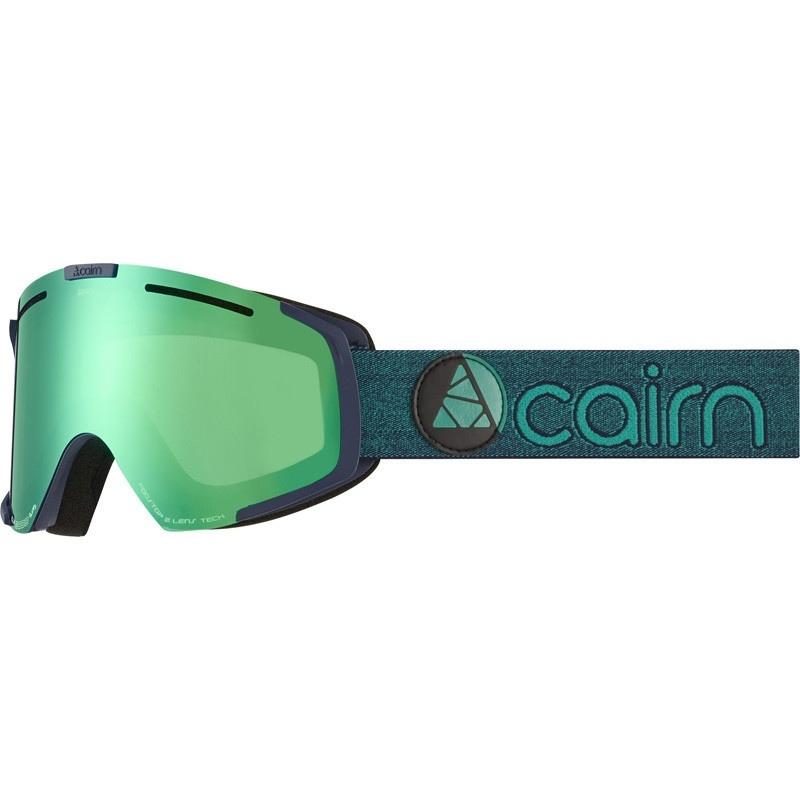 Mask Cairn GENESIS CLX3I Mat Midnight Green