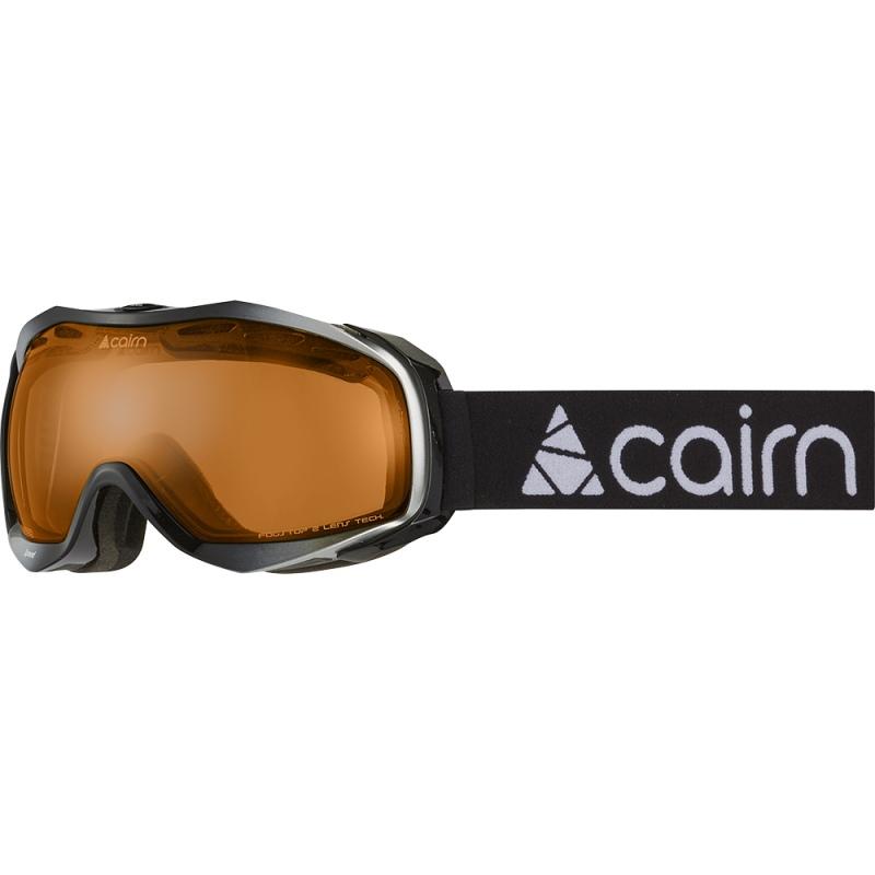 Cairn SPEED CMAX Shiny Black Shiny Silver Mask