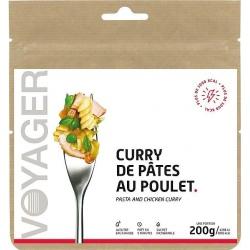 Repas lyophilisé Voyager Curry de pâtes au poulet 200g