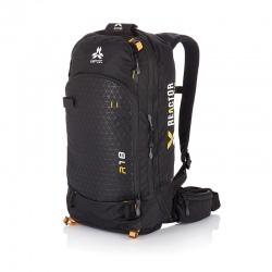 Arva AIRBAG REACTOR 18 Black/Saffron Backpack