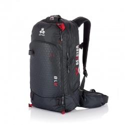 Arva AIRBAG REACTOR 18 Grey/Red Backpack