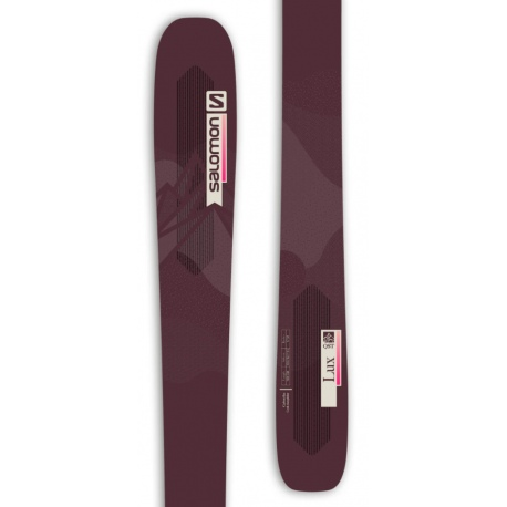 Skis Salomon QST LUX 92 Bordeau / Pink