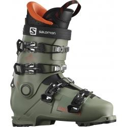 Salomon SHIFT PRO 80 T AT Oil Green / Black / Orange ski boots