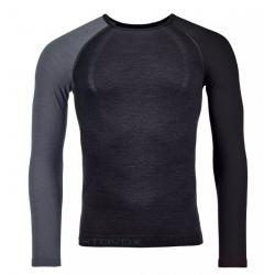 T-shirt Ortovox 120 COMP LIGHT LONG SLEEVE Black raven