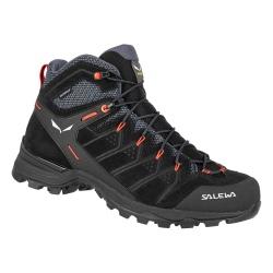 Salewa MS ALP MATE MID WP Black/Fluo orange hiking shoes