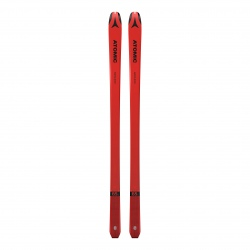 Atomic BACKLAND 65 UL skis + RACE SKIN 65 Red