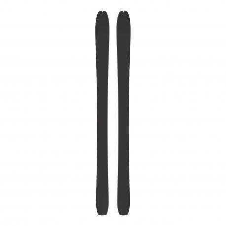 Skis Atomic BACKLAND 86 SL + peaux SKIN 85/86 Black / Red