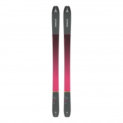 Skis Atomic BACKLAND 86 SL W + peaux SKIN 85/86 Anthracite / Pink
