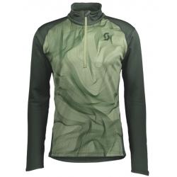 Scott M'S DEFINED LIGHT Tree green/tree green print sweater