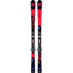 Pack de skis Rossignol HERO ATHLETE GS PRO (R21 PRO) + fixations NX 10 GW B73 Black / Icon