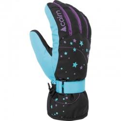 Cairn MADISON J Black Turquoise Gloves