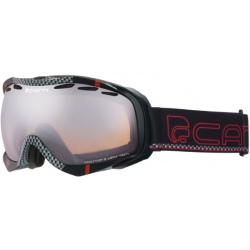 Cairn ALPHA SPX3000 Black Carbon Red goggles