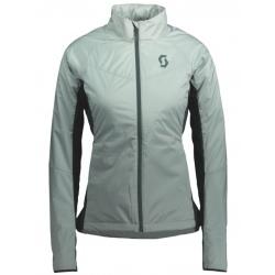 Scott W'S INSULOFT LIGHT PL Fog green/Tree green jacket