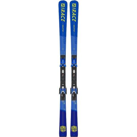 Pack de skis Salomon X S/RACE RUSH GS + fixations X12 TL GW B