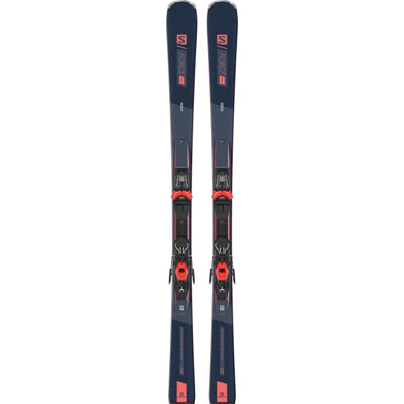 Pack de skis Alpin E S/FORCE FEVER + fixations M11 GW L80 B