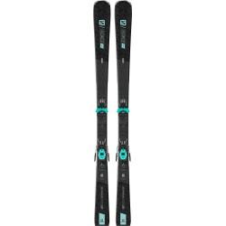Pack de skis Salomon S / FORCE W 7 + fixations M10 GW L80 Bk