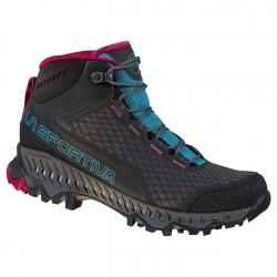 La Sportiva STREAM W GTX Black/Topaz hiking shoes