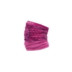 Barts MULTICOL POLAR Print pink neckband