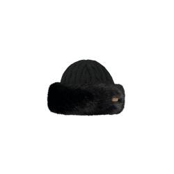 Bonnet Barts FUR CABLE BANDHAT Black