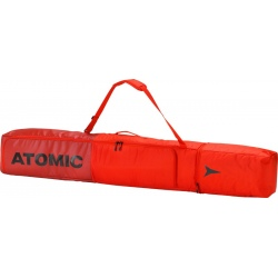 Atomic DOUBLE SKI BAG Bright Red / Red