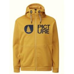 Picture PARK Z TECH HOODIE Golden Yellow Sweatshirt