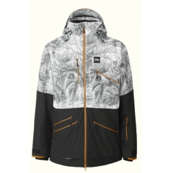 Picture STONE JKT M Map Ripstop/Black Jacket