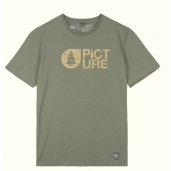 Tee-shirt Picture BASEMENT CORK Dusty Olive