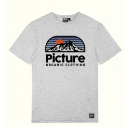 Picture AUTHENTIC TEE Grey Melange t-shirt