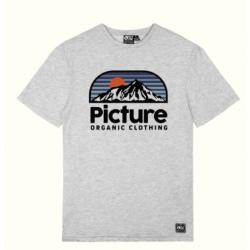 Tee-shirt Picture AUTHENTIC TEE Grey Melange