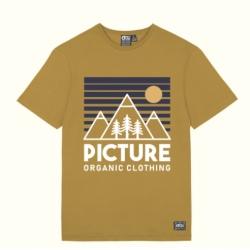 Tee-shirt Picture SUNDOWNER Dark Golden