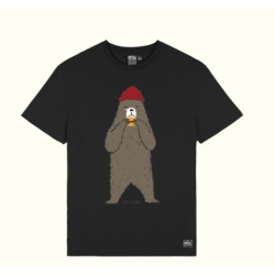 Tee-shirt Picture OURS TEE Black